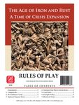 Board Game: Time of Crisis: The Age of Iron and Rust