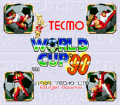 Video Game: Tecmo World Cup '90