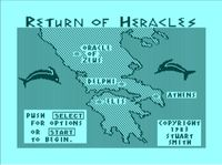 Video Game: The Return of Heracles