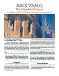 RPG Item: Aalk Vaalg: The Citadel of Osaran