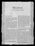 RPG Item: Modron: City of the River Goddess