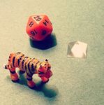 Crystal Tiger Dice