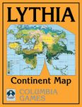 RPG Item: Lythia Continent Map