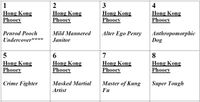 Board Game: Hong Kong Phooey
