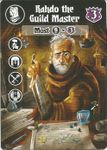 Board Game: Villages of Valeria: Rahdo the Guild Master Promo Card