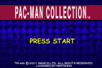 Video Game Compilation: Pac-Man Collection