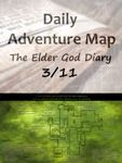 RPG Item: Daily Adventure Map 020: The Elder God Diary 3/11