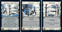 Board Game: Dominion: Sauna / Avanto Promo Card