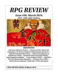 Issue: RPG Review (Issue 30 - Mar 2016)