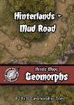 RPG Item: Heroic Maps Geomorphs: Hinterlands - Mud Road