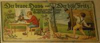 Board Game: Der brave Hans und Der böse Fritz.