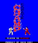 Video Game: Karate Champ