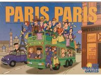 Board Game: Paris Paris