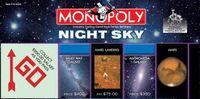 Board Game: Monopoly: Night Sky