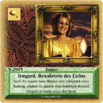 Board Game: Die Siedler von Catan: Das Kartenspiel – Sonderkarte 2005 – Irmgard, Bewahrerin des Lichts
