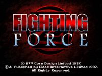 Video Game: Fighting Force