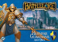 Board Game: BattleLore (Second Edition): Hernfar Guardians Army Pack