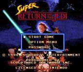 Video Game: Super Star Wars: Return of the Jedi