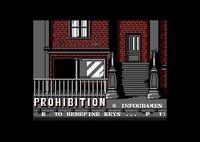 Video Game: Prohibition