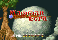 Video Game: Magician Lord