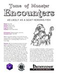 RPG Item: Tome of Monster Encounters: As Likely As A Goat Herding Fish