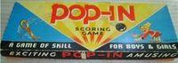 Board Game: Pop-In Scoring Game