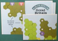 Board Game: Age of Steam Expansion: Great Britain