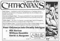 RPG Item: Curse of the Chthonians