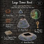 RPG Item: Large Tower Roofs Pack