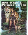RPG Item: Rifts Magic & Psionics Screen