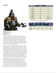 RPG Item: Classes of Fantasy: Dwarf
