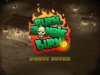 Video Game: Burn Zombie Burn!