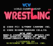 Video Game: WCW World Championship Wrestling
