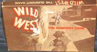 Board Game: Wild West: The Gunfight Game