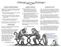 """RPG Item: Vikings Having Feelings (""""Exploded"""" Version)"""