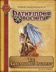 RPG Item: Pathfinder Society Scenario 4-03: The Golemworks Incident