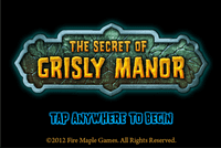Video Game: The Secret of Grisly Manor