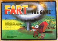 Board Game: Fart The Game