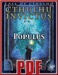 RPG Item: Cthulhu Invictus: Populus