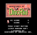 Video Game: Adventures of Dino Riki