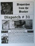 Board Game: Dispatches from the Bunker #31