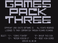 Video Game Compilation: Games Pack Three: Meteor Mission 2 – Cosmic Fighter