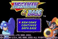 Video Game: Mega Man & Bass