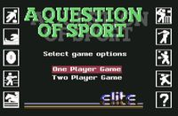 Video Game: A Question of Sport