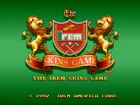 Video Game: Skins Game
