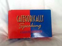 Board Game: Categorically Speaking