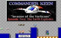 Video Game: Commander Keen: The Earth Explodes