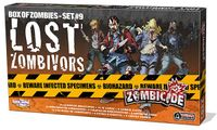 Board Game: Zombicide: Box of Zombies Set #7 – Lost Zombivors