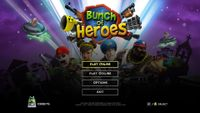 Video Game: Bunch of Heroes