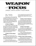 RPG Item: Weapon Focus: High-Tech Riot Control